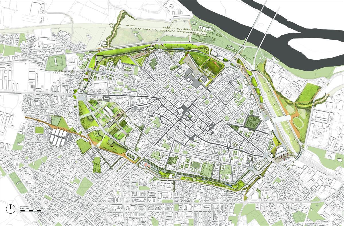 Parco delle mura piacentine come progetto di paesaggio for Master architettura