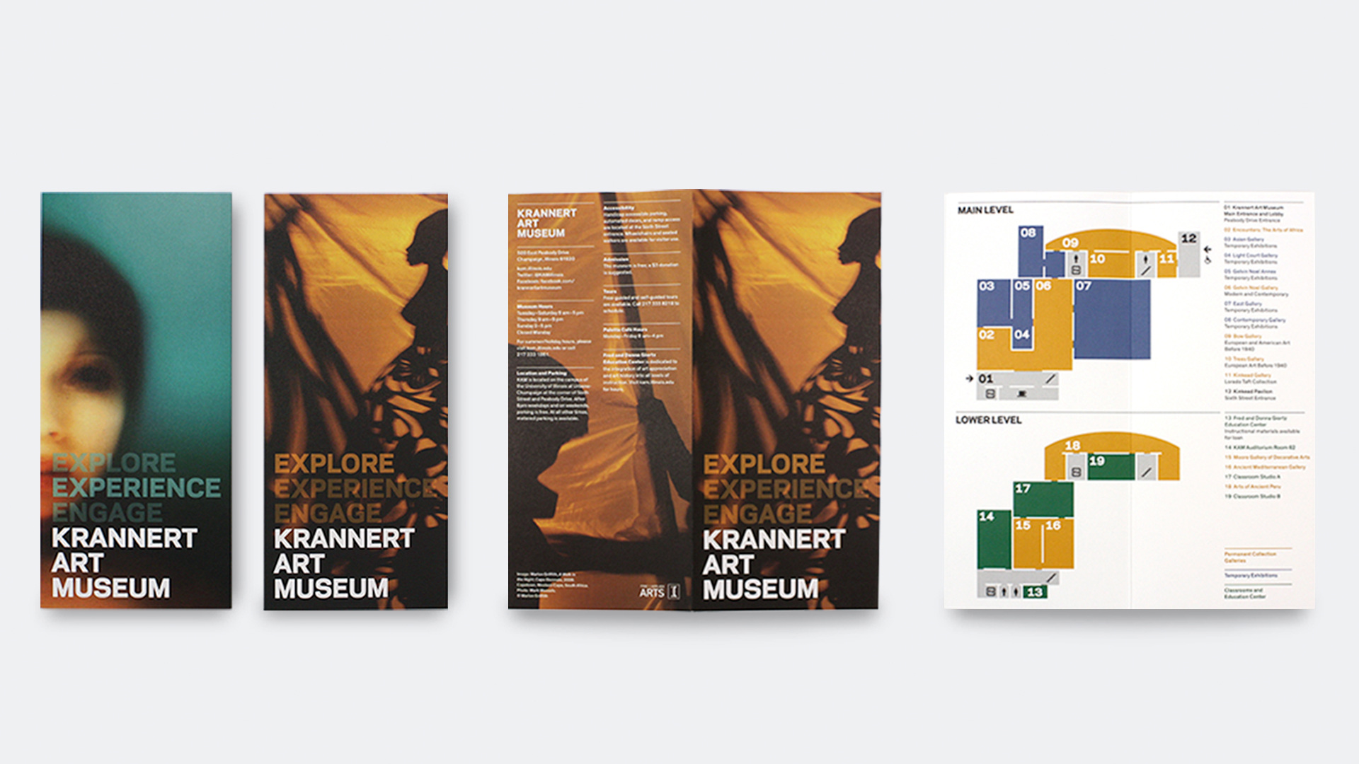 art museum brochure - Google Search | museum brochure | Pinterest ...